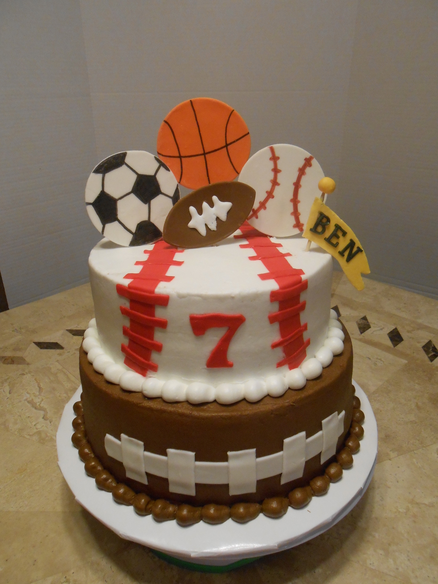 Ben S Sport S Birthday Cake Cakecentral Com