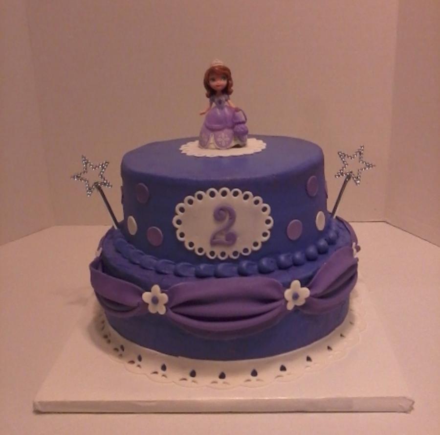 Sofia The First Birthday Cake CakeCentralcom
