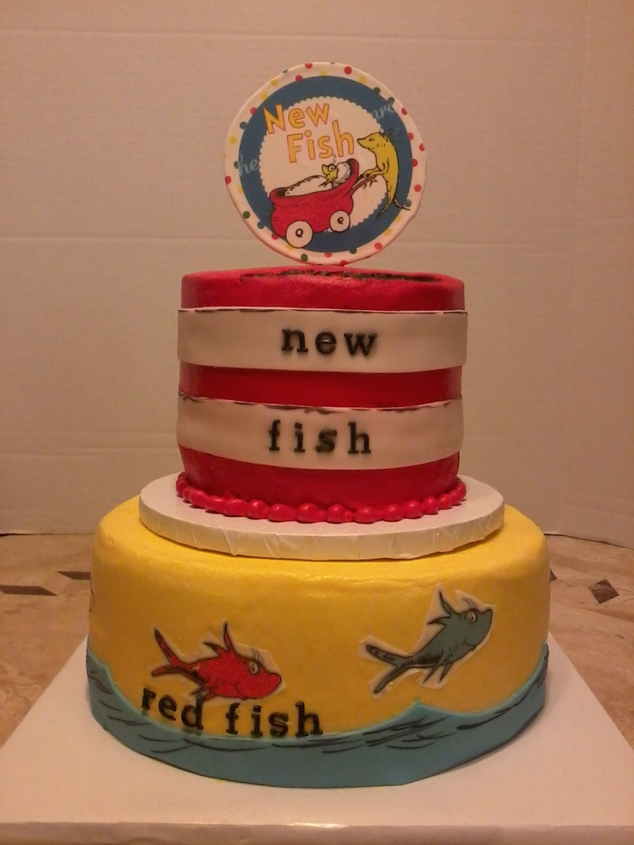 Dr Seuss Baby Shower Cake on Cake Central