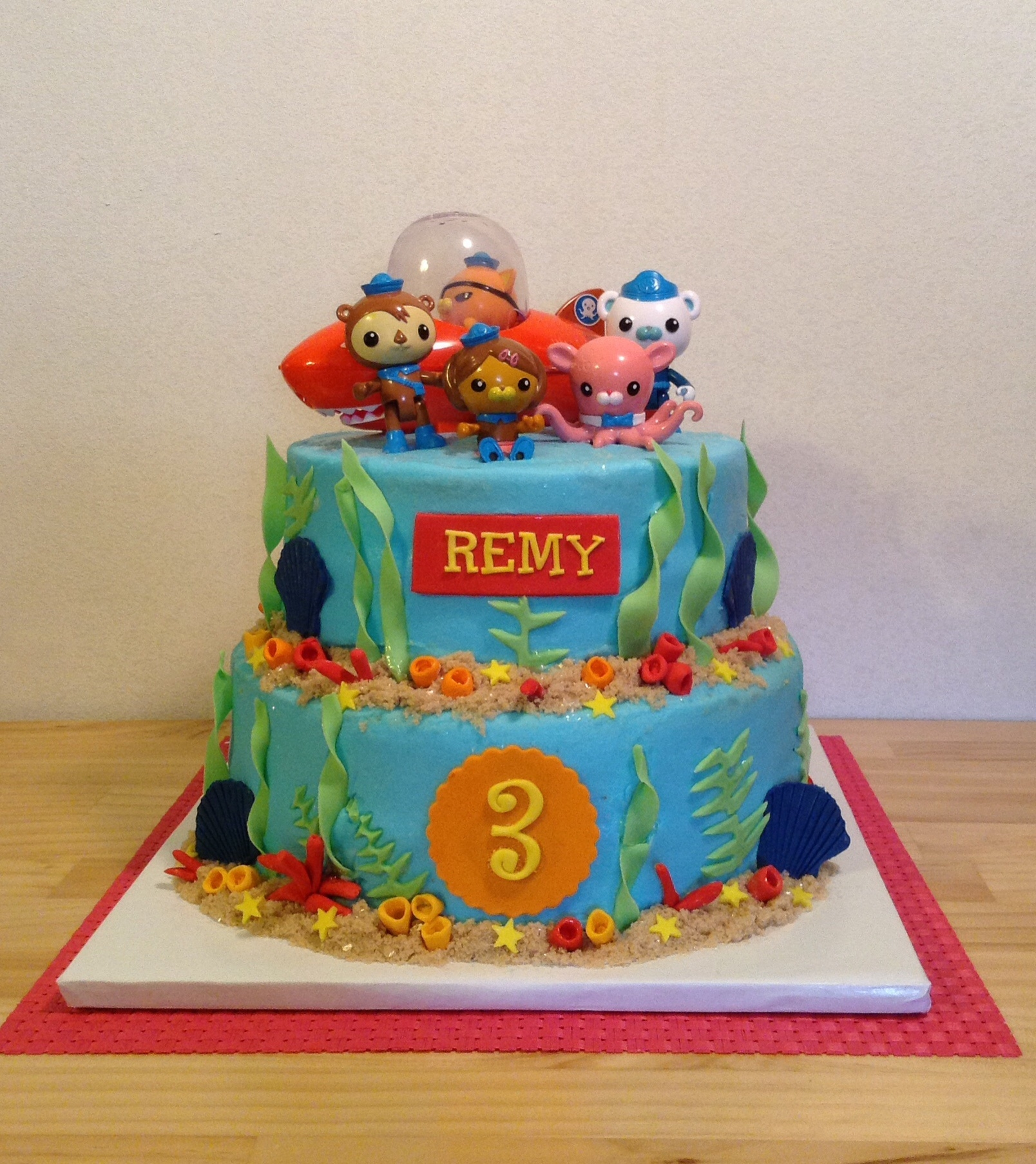Octonauts Birthday Cake On Central