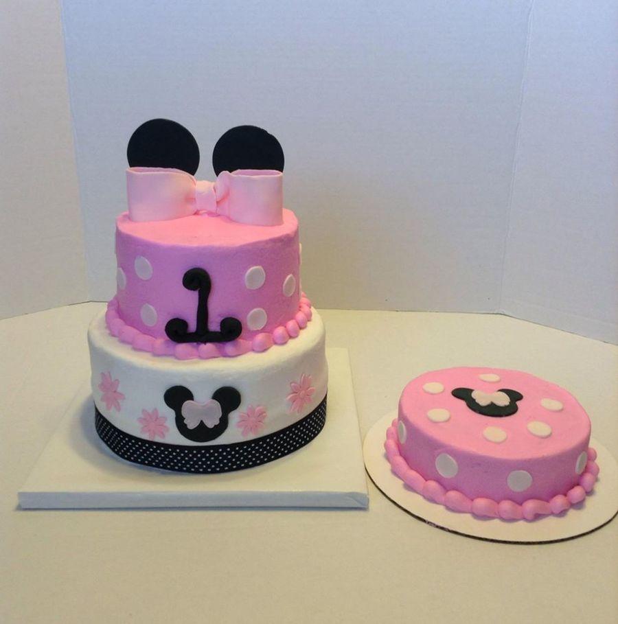 Pleasant Minnie 1St Birthday Cakecentral Com Funny Birthday Cards Online Inifofree Goldxyz