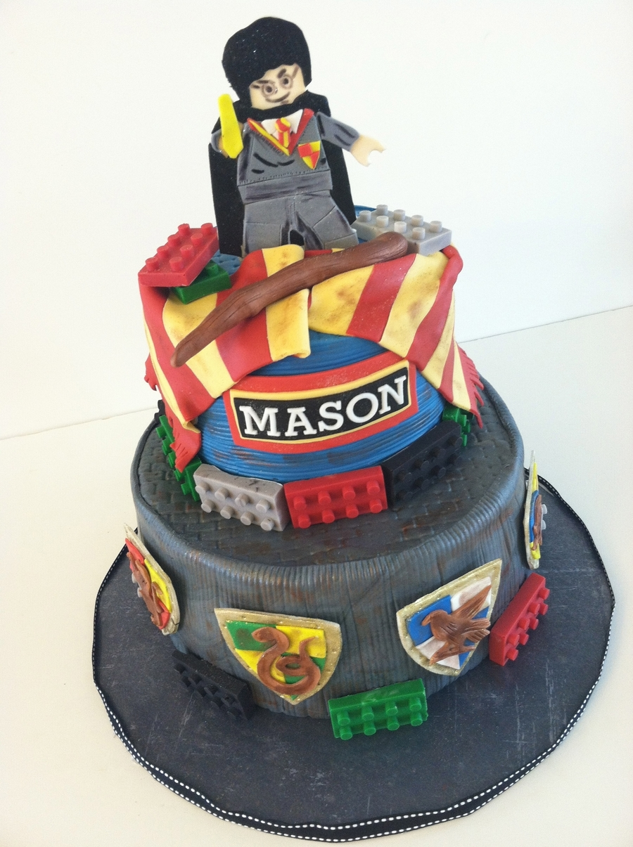 Harry Potter Lego Cake! on Cake Central