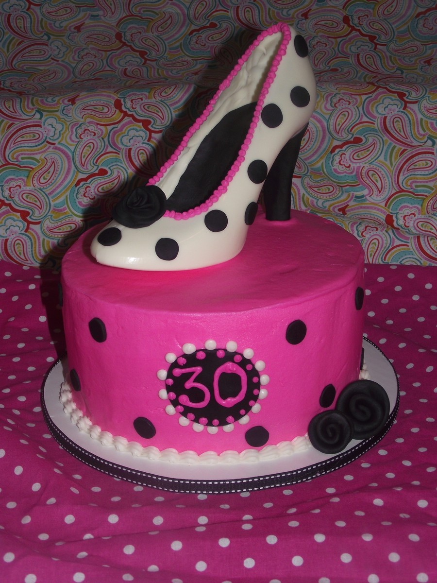 High Heeled Shoe Birthday Cake Cakecentral