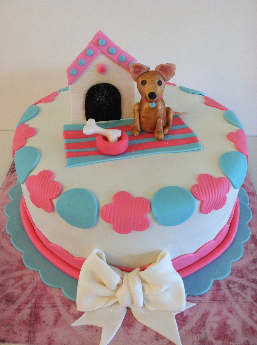 Excellent Chihuahua Cake Cakecentral Com Funny Birthday Cards Online Unhofree Goldxyz