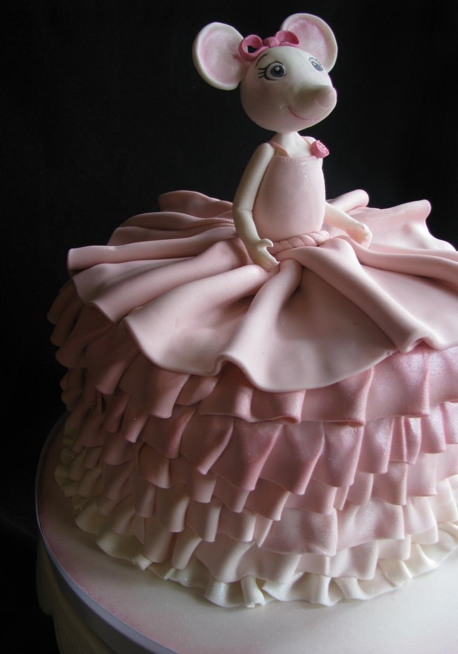 Angelina Ballerina Birthday Cake - CakeCentral.com