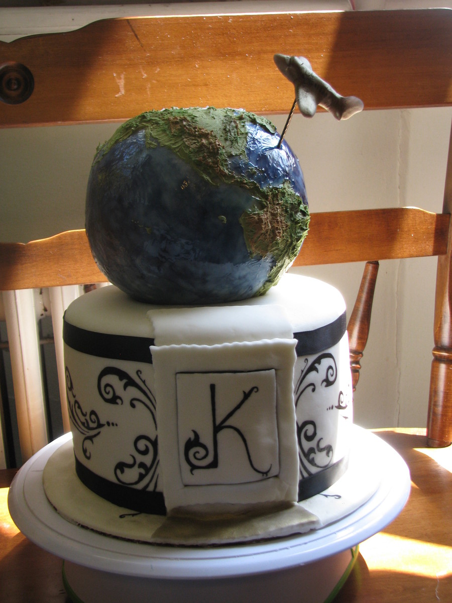 World Traveler Birthday Cake Cakecentral Com