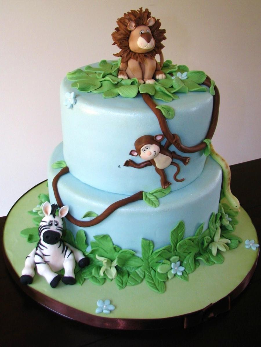 Leo The Lion Amp Friends Cakecentral Com