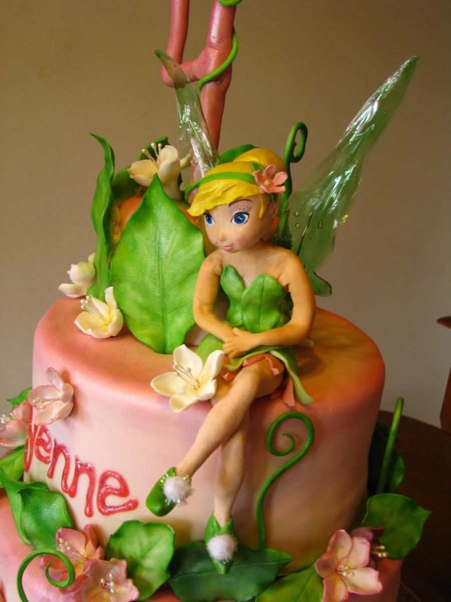 Tinkerbell Cake Decorating Ideas