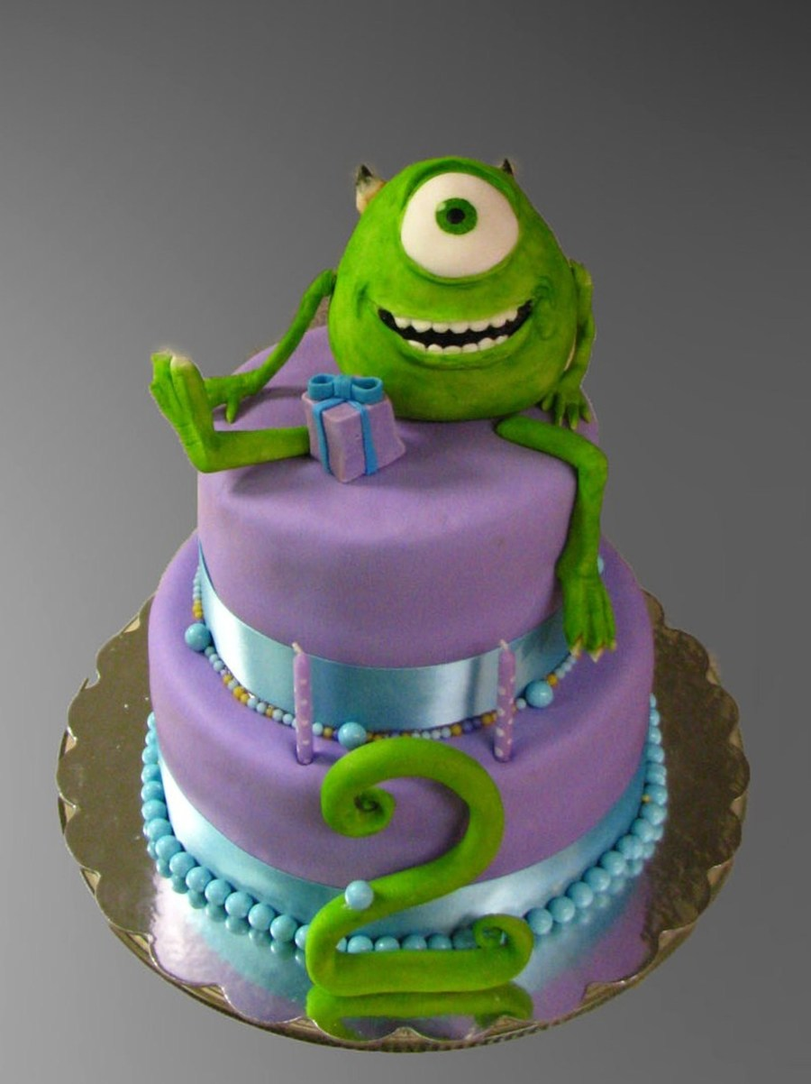 Monster S Inc 2nd Birthday Cake Cakecentral Com
