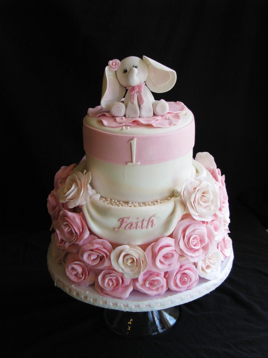 Dumbo The Elephant Birthday Cake