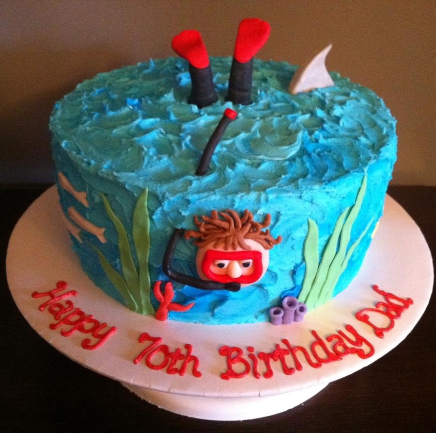 Scuba Cake Ideas
