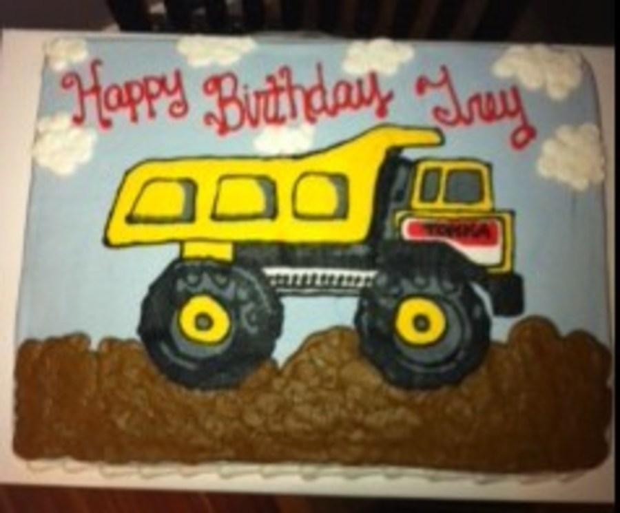 Surprising Tonka Truck Cake Cakecentral Com Funny Birthday Cards Online Necthendildamsfinfo