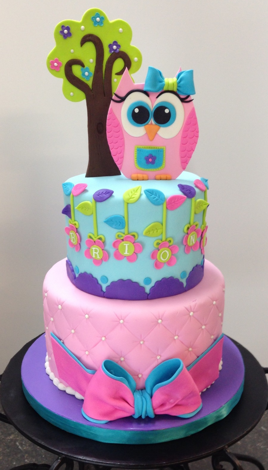 Owl Birthday Cake Cakecentral
