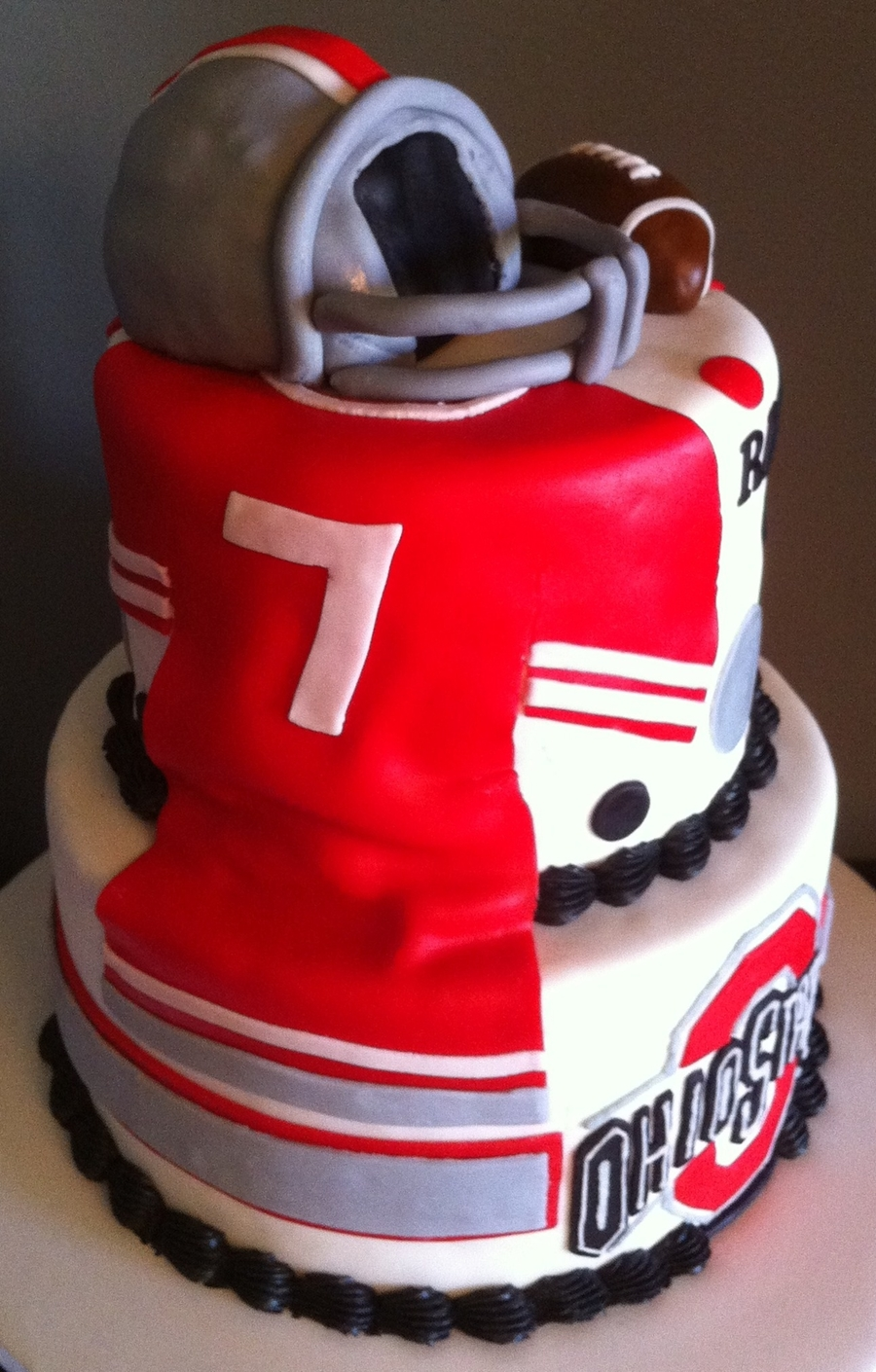 Ohio State Birthday Cake Cakecentral Com