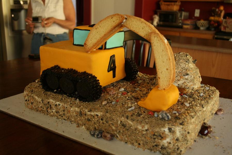 Excavator Cake Cakecentral