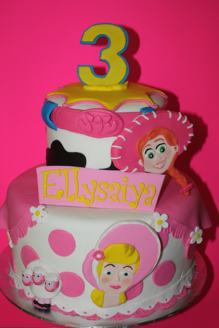 Toy Story Girl Cake Cakecentral Com