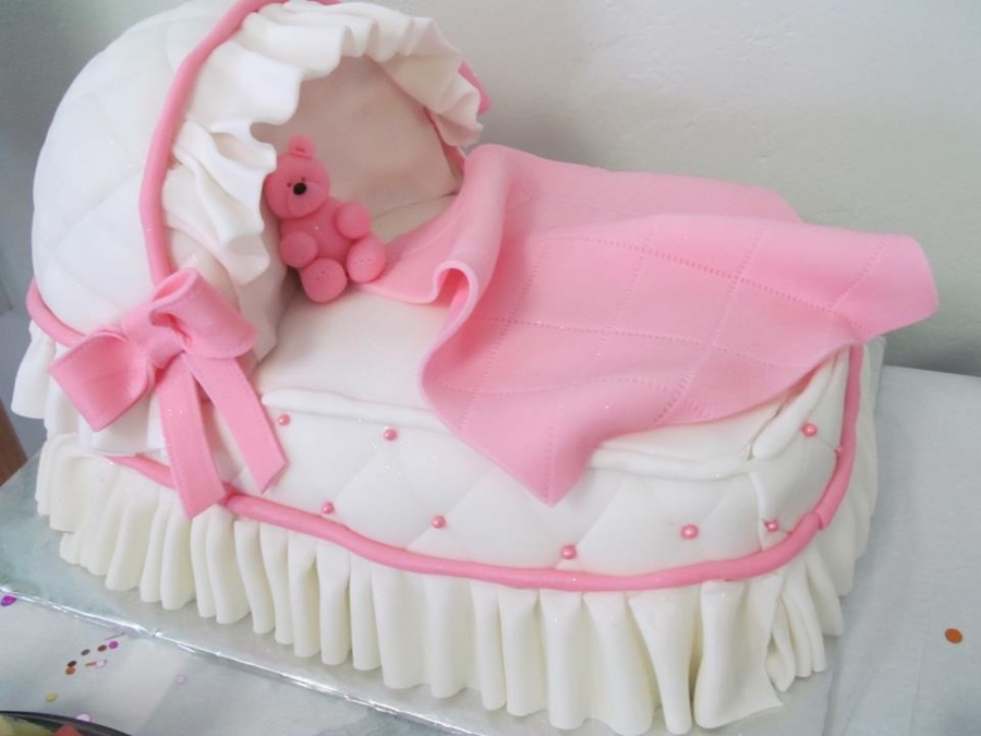 Cake Decorating Baby Carriage : Baby Carriage Cake - CakeCentral.com