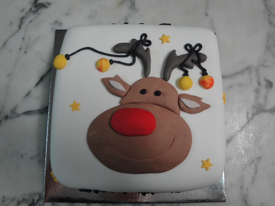 Rudolph on Cake Central