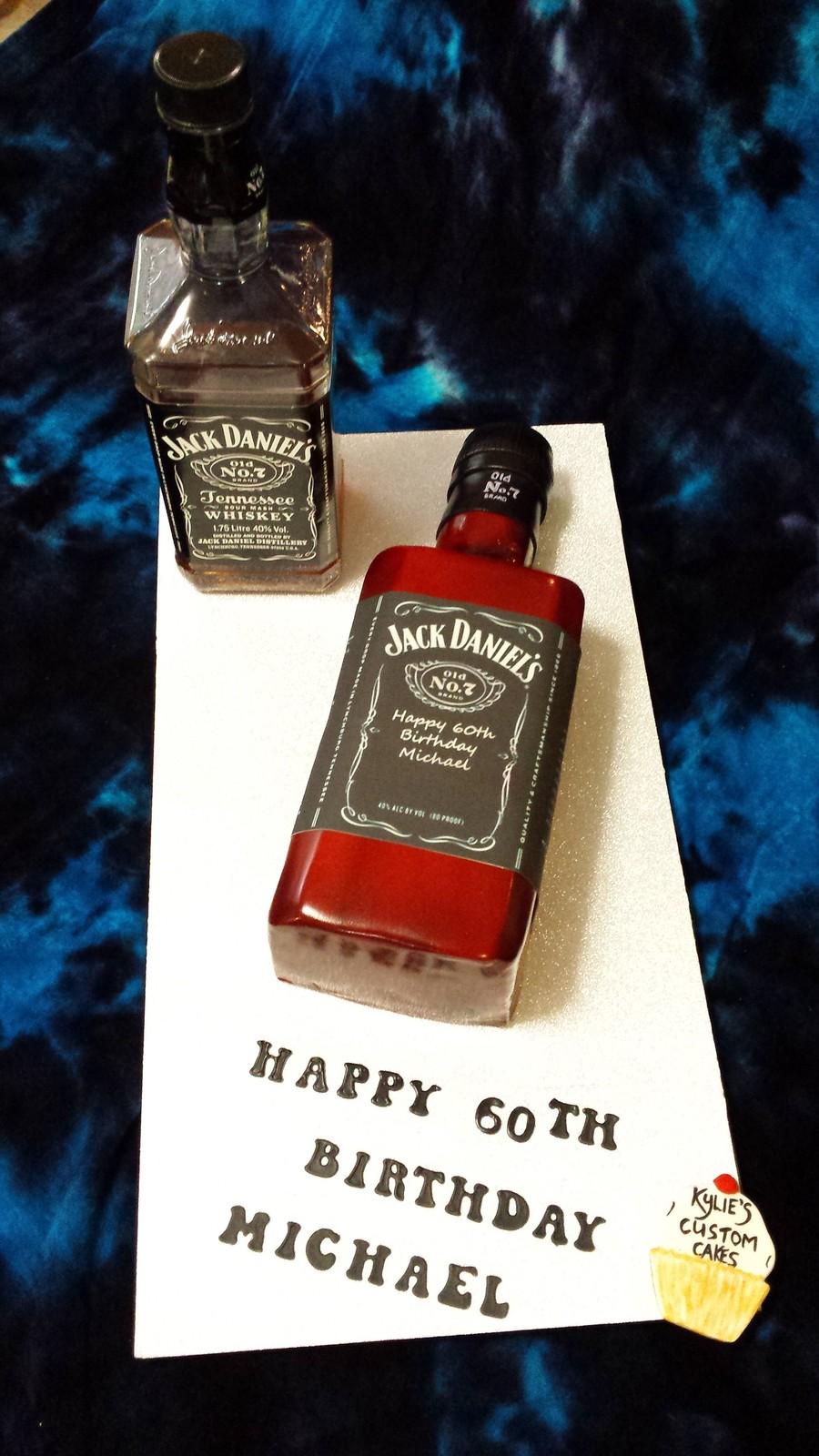 Jack Daniels Bottle Cake Recipe