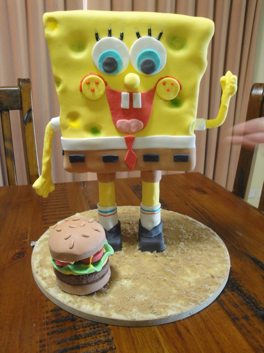 Spongebob  on Cake Central