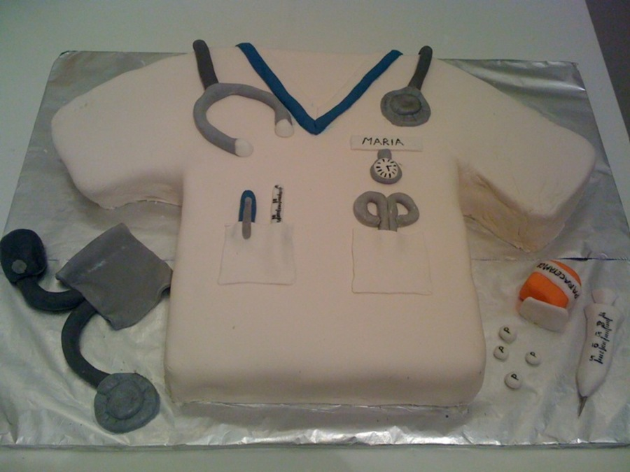 Nurse's Tunic on Cake Central