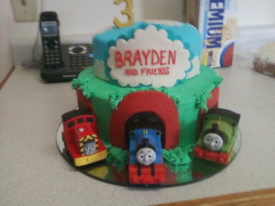 Thomas Train Cake on Cake Central
