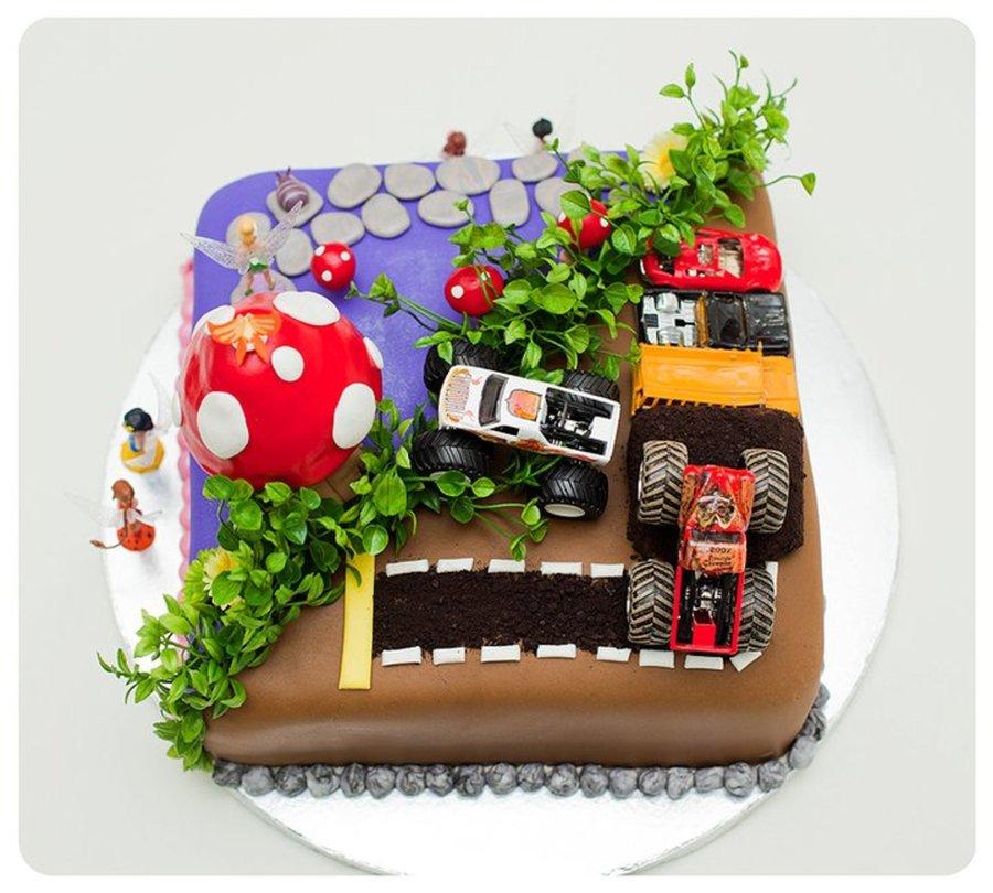 Birthday Cake Ideas For Boy And Girl Twins : Boy / Girl Twins Birthday - CakeCentral.com