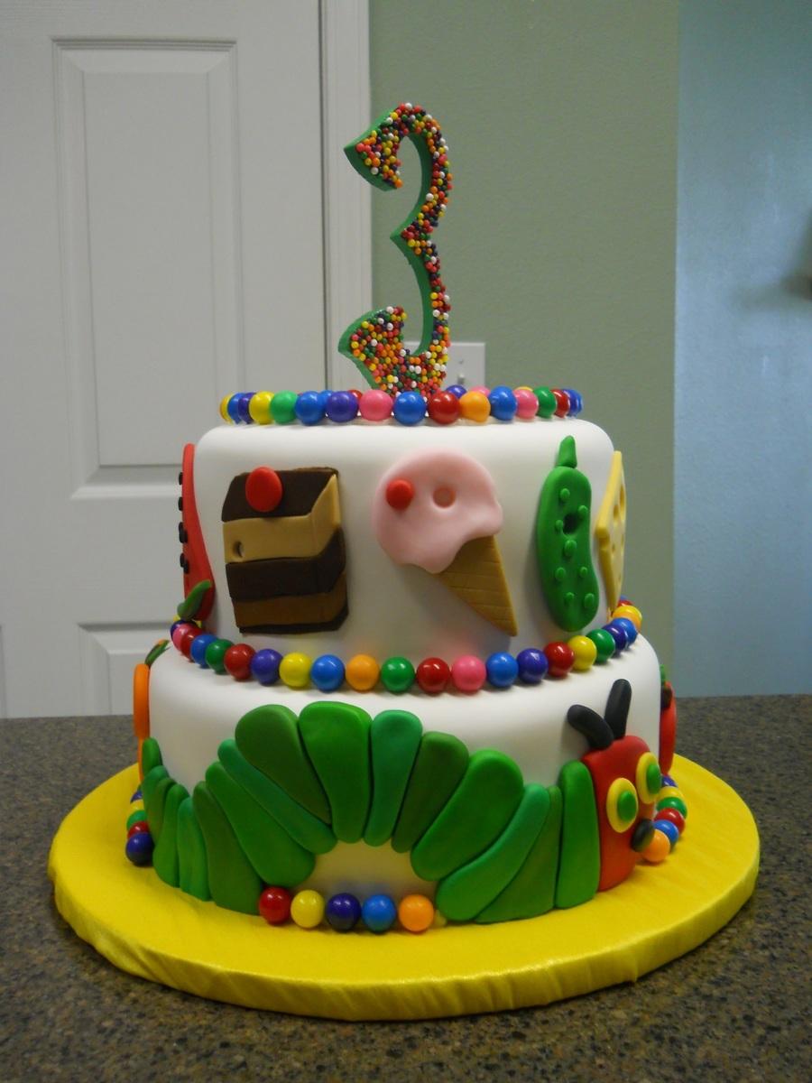 The Very Hungry Caterpillar Cake Recipe