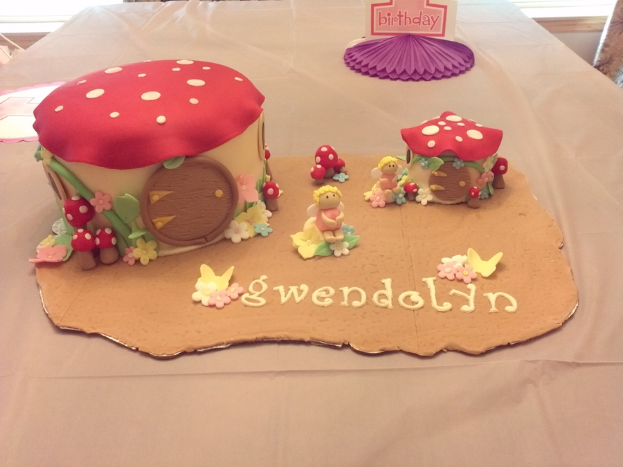 Fairy House Cake on Cake Central