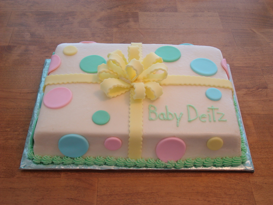 Simple Baby Shower Cake Ideas For A Boy