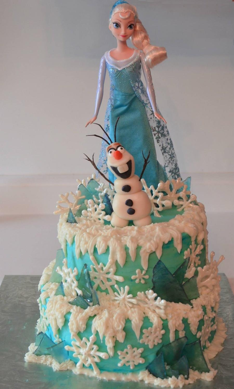 Elsa Doll Cake Decorations : Disney Frozen Cakes - CakeCentral.com