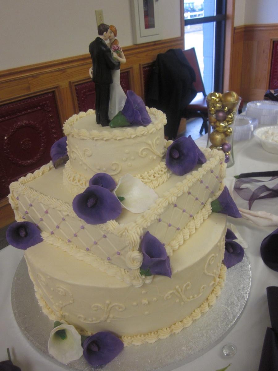 Megan S Wedding Cake Cakecentral Com