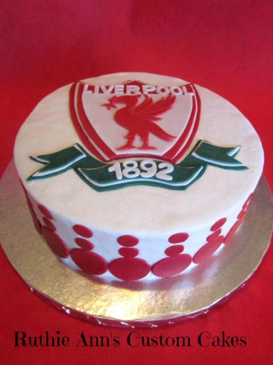 Liverpool Fondant Cake