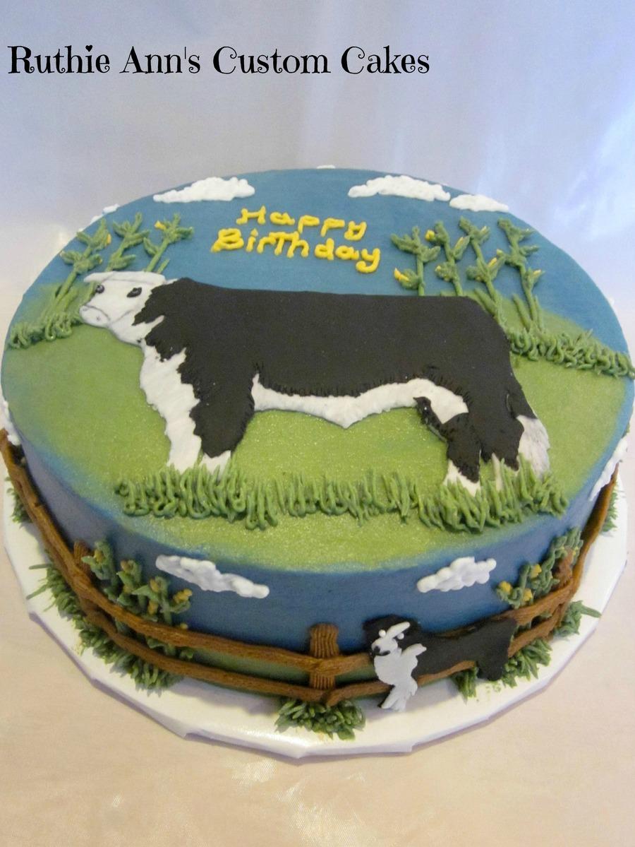 Cattle Farmer Cake Cakecentral
