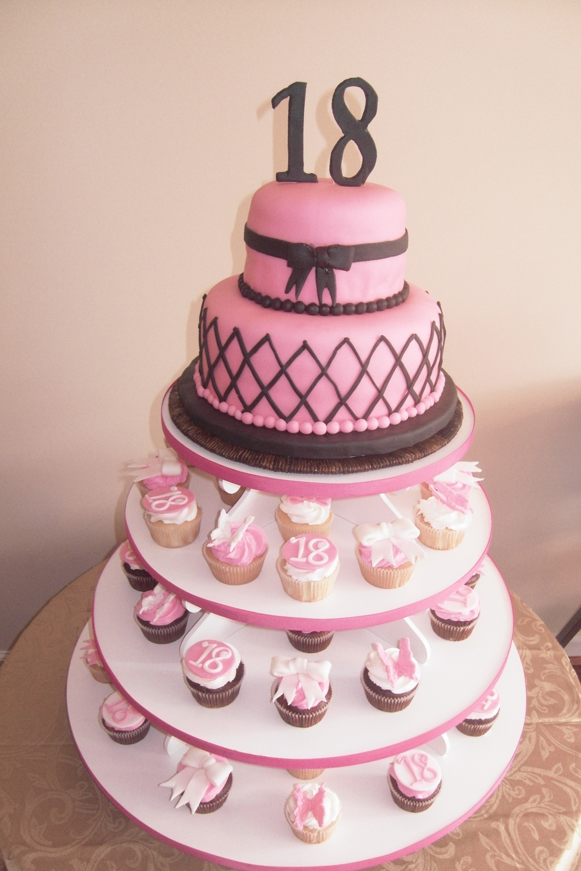 Awe Inspiring 18Th Birthday Cake Cakecentral Com Funny Birthday Cards Online Fluifree Goldxyz