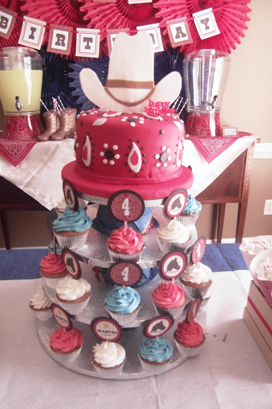 Cowboy / Cowgirl Themed Party  on Cake Central