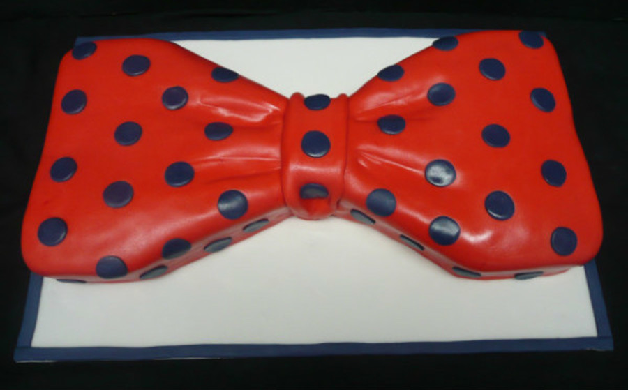Bow Tie Cake on Cake Central