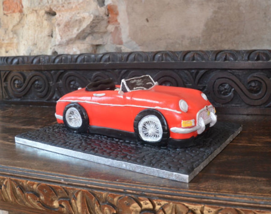 Mg Classic Car Cake on Cake Central