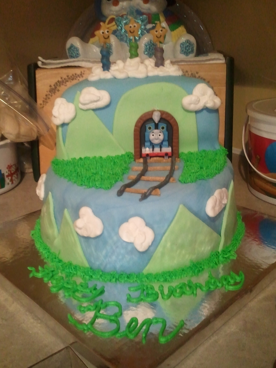 Thomas The Train Birthday Cake on Cake Central