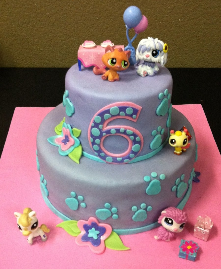 Littlest Pet Shop Birthday Cake Images