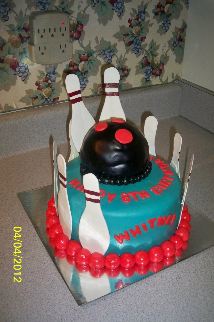 Bowling Birthday  on Cake Central