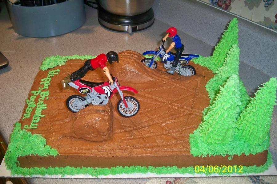 Dirt Bike Cake Cakecentral Com