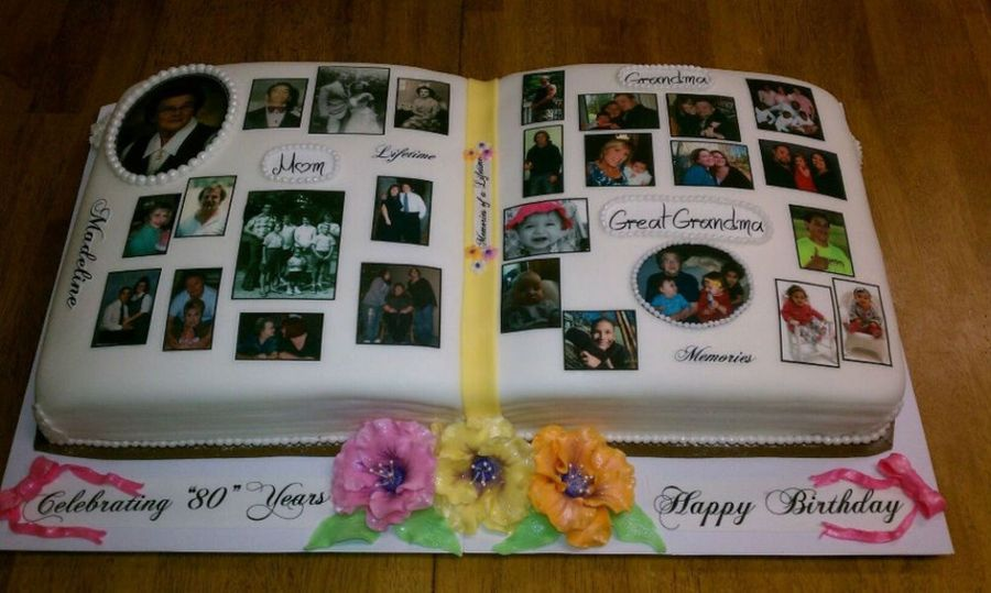 Photo Album Cake Cakecentral