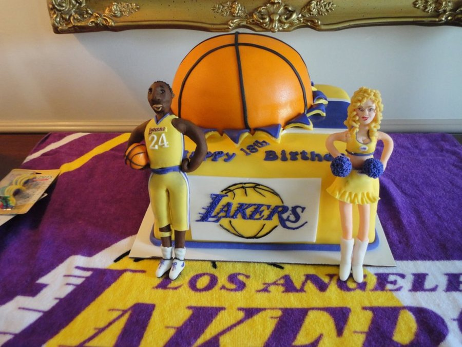 Lakers Birthday Cakecentral