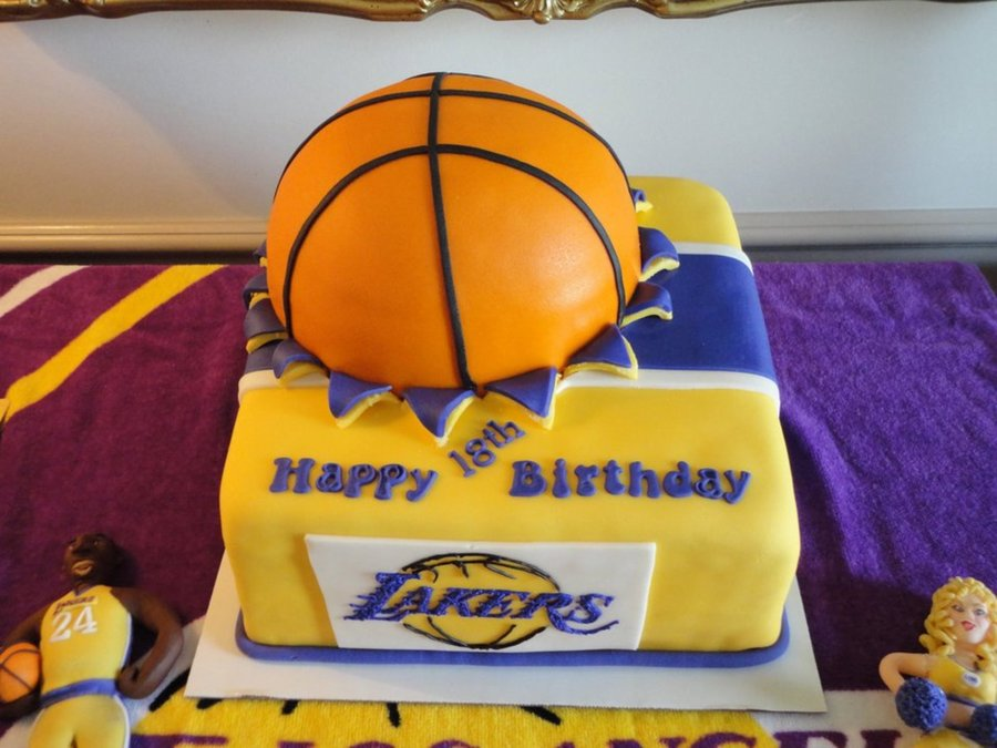 Lakers Birthday Cakecentral Com