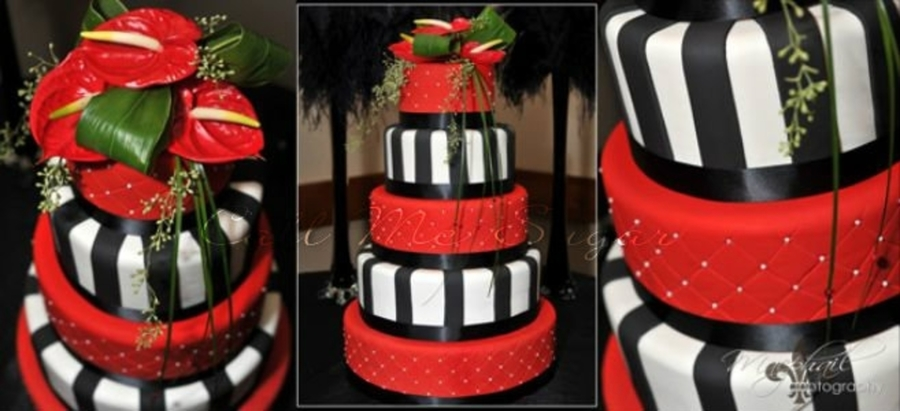 Red Referee Cake on Cake Central