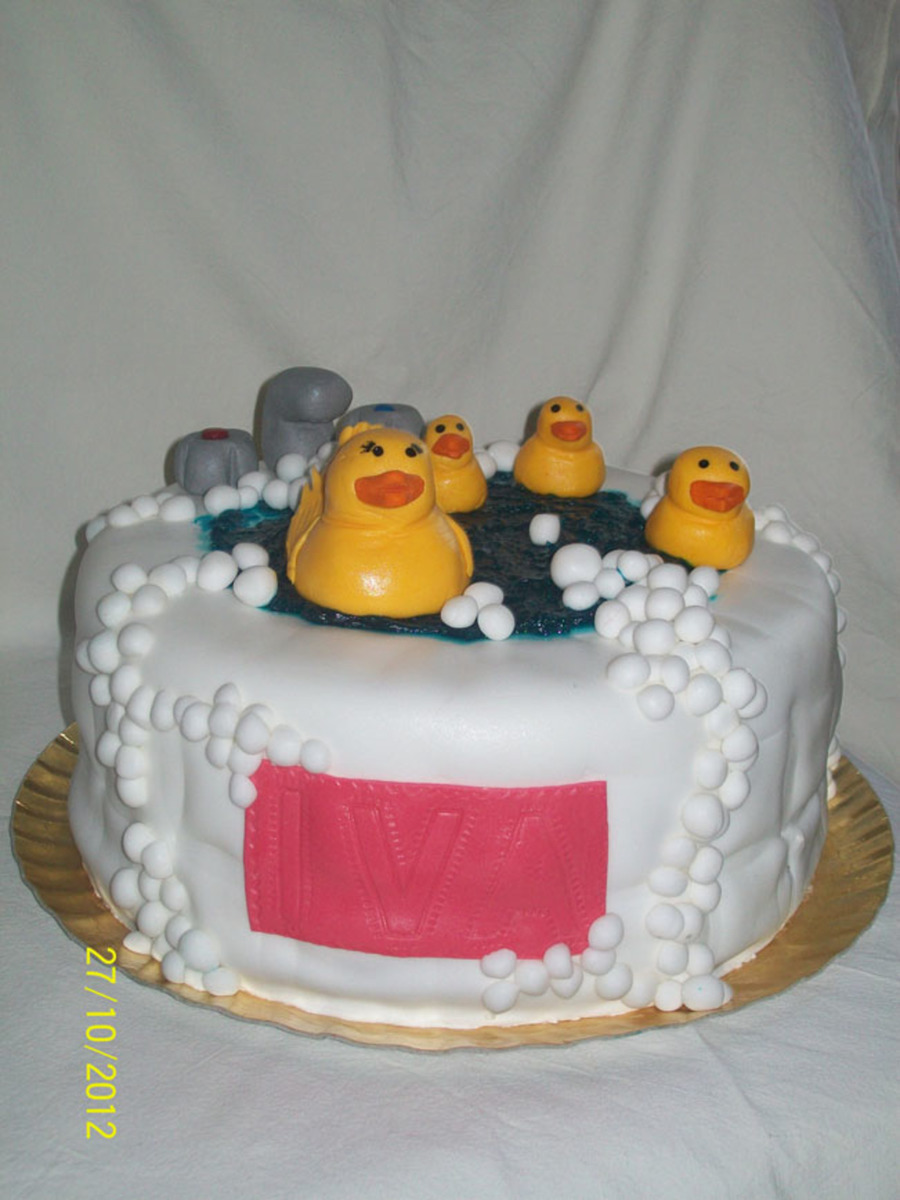 Rubber Ducky For Iva on Cake Central