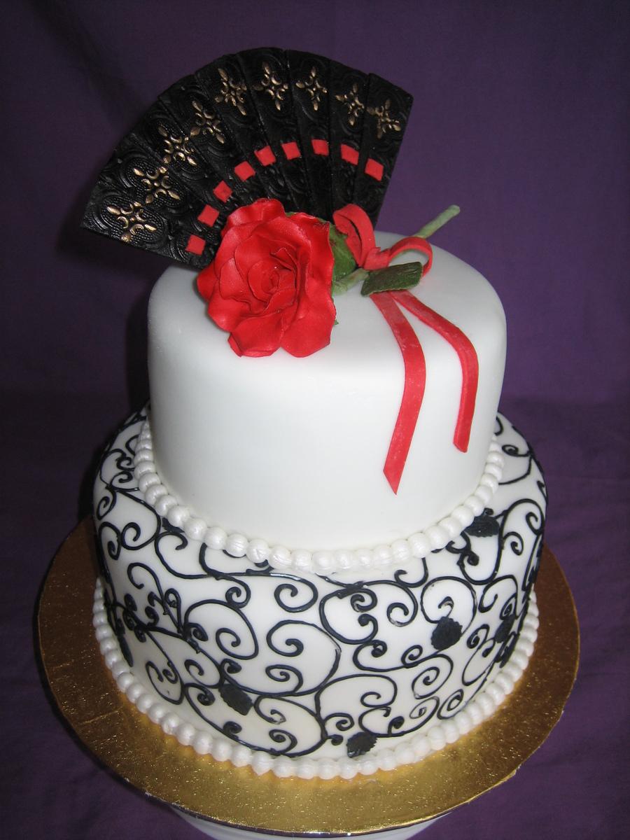 Spanish Themed Wedding Cakes