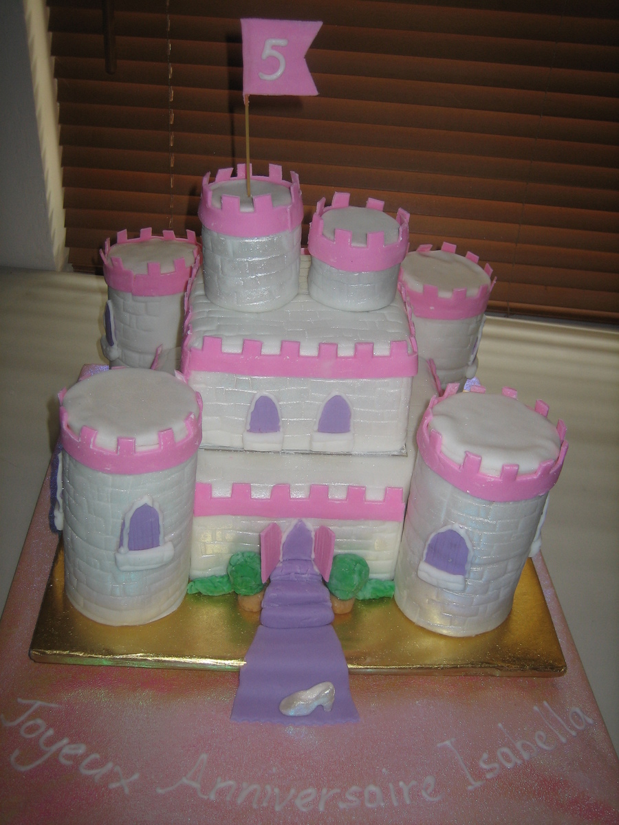 Cinderella's Castle on Cake Central