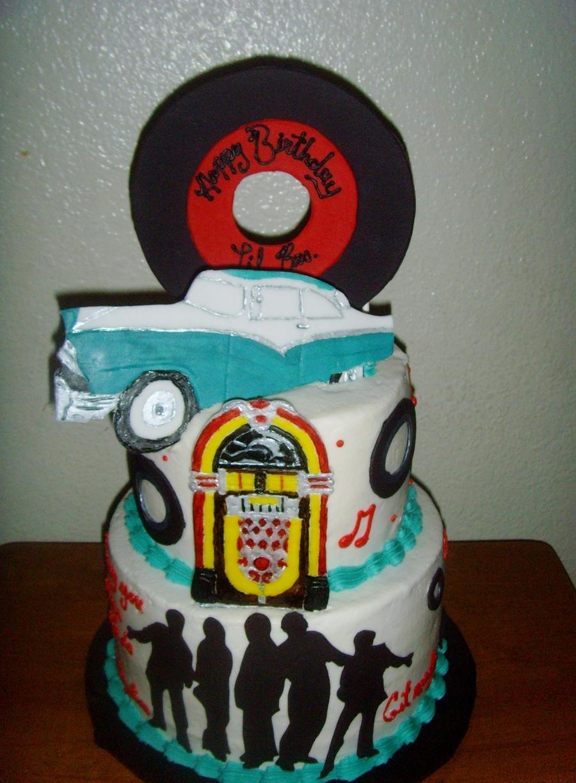 Magnificent 50S Birthday Cake Cakecentral Com Funny Birthday Cards Online Necthendildamsfinfo